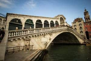 Rialto bridge - most famous venice bridge photo
